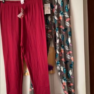 2 pairs Brand new with tags leggings
